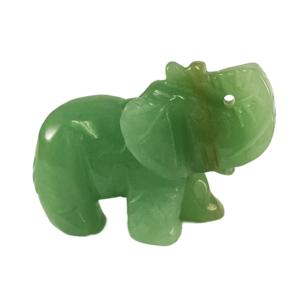 aventurine,elephant