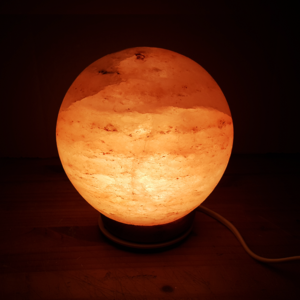 Himalayan,salt,lamp,sphere,decor,south africa