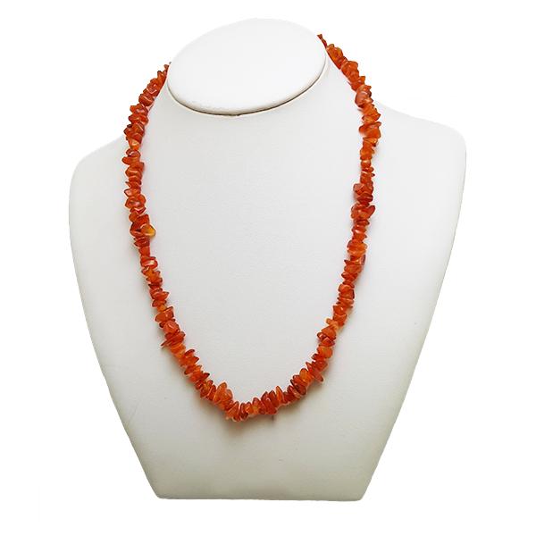 carnelian,orange,necklace