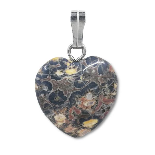 heart,pendant,leopard,spotty