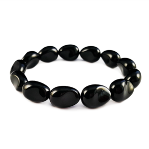 onyx,black,gemstone,bracelet