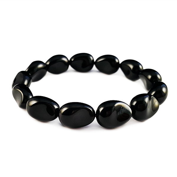 onyx,black,gemstone,bracelet