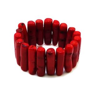 coral,red,bracelet,red