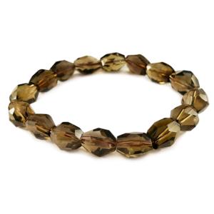 smoky,smokey,quartz,brown,gemstone,bracelet