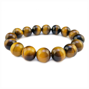tigers eye,gold,brown,bead,round,bracelet