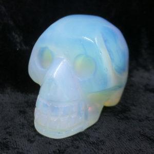 crystal,skull,oplaite,opal