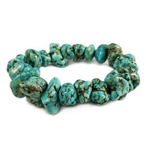 howlite,blue,bracelet,gemstone