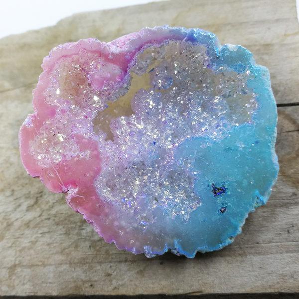 pink,blue,fairy,unicorn,geode,aura