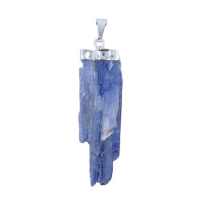 kyanite,blue,blade,gemstone,rough,pendant