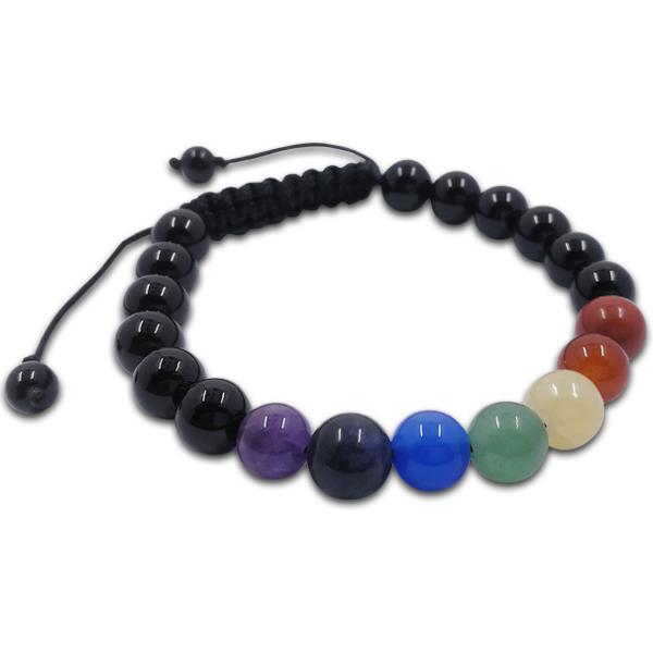 chakra,bracelet,black,agate