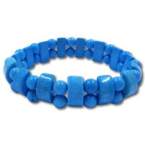 howlite,blue,bracelet