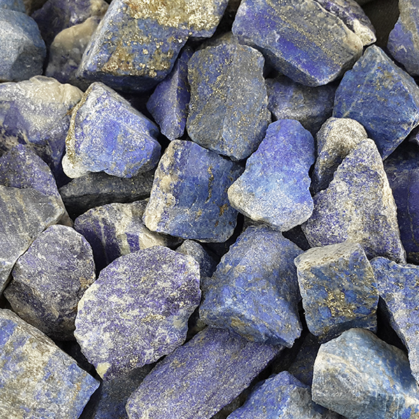 lapis,rough,blue