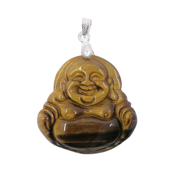 pendant,tigers eye,gemstone,buddha
