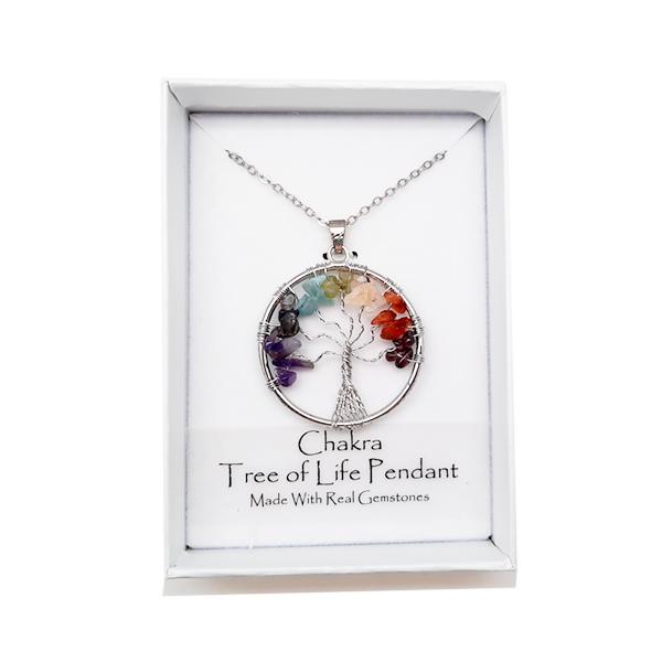 tree of life,chakra,necklace