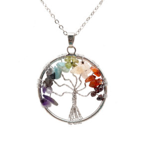 tree of life,chakra,necklace